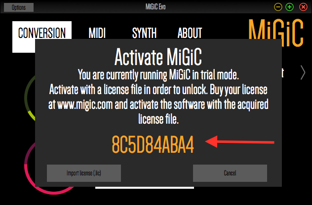 migic introducing migic real time guitar to midi conversion. Black Bedroom Furniture Sets. Home Design Ideas